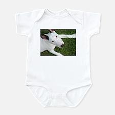 Sweet Bull Terrier Infant Bodysuit