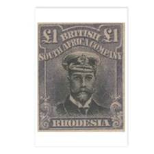 Rhodesia KGV Admirals Pound Postcards (Package of