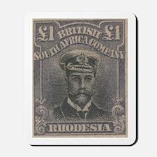 Rhodesia KGV Admirals Pound Mousepad