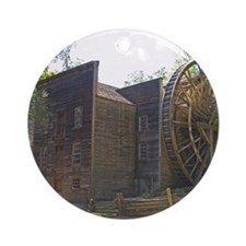 Bale Gristmill Ornament (Round)