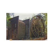 Bale Gristmill Rectangle Magnet