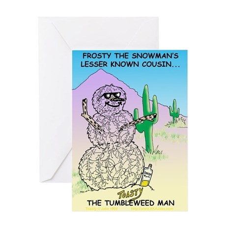 Toasty Greeting Card