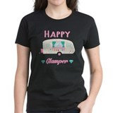 Happy camper Women's Dark T-Shirt