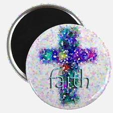 """Faith Cross 2.25"""" Magnet (10 pack)"""