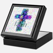 Faith Cross Keepsake Box