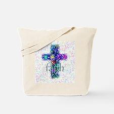 Faith Cross Tote Bag