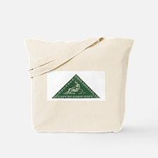 Cape Triangle 1s Green Tote Bag
