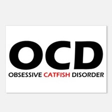 Obsessive Catfish Disorder Postcards (Package of 8