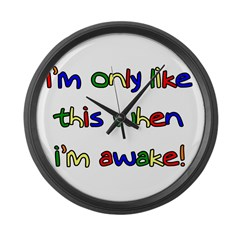 Like This Large Wall Clock
