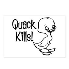 Quack Kills Postcards (Package of 8)