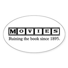 Movies Oval Decal