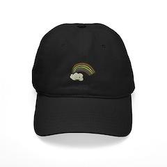 Vintage Smiling Cartoon Rainb Baseball Hat