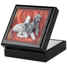 Bedlington Puppy Love Keepsake Box