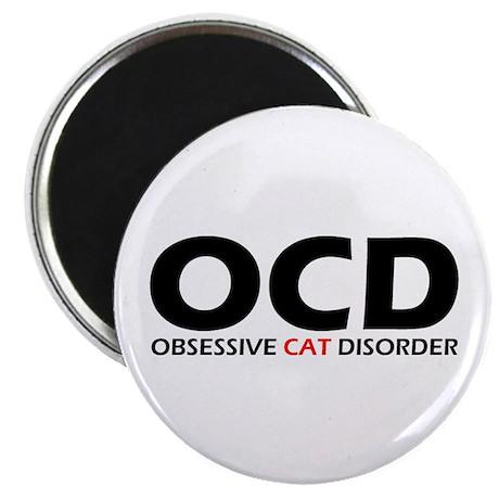 Obsessive Cat Disorder Magnet