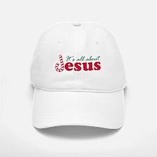 All about Jesus Baseball Baseball Cap