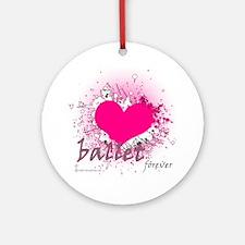 Love Ballet Forever Ornament (Round)