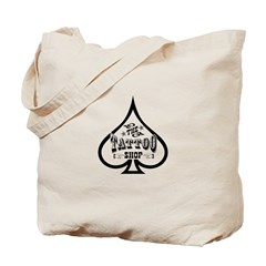 The Tattoo Shop Spade designs Tote Bag