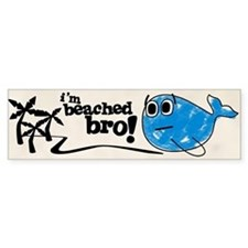 Beached Bro Bumper Bumper Sticker