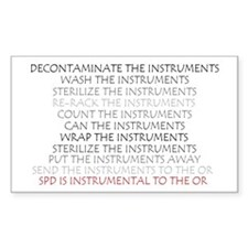 Instruments - SPD Rectangle Decal