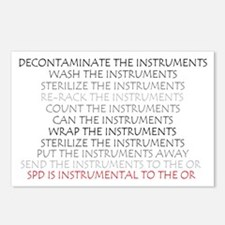 Instruments - SPD Postcards (Package of 8)
