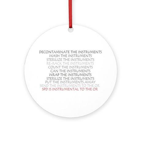 Instruments - SPD Ornament (Round)