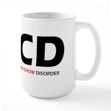 Obsessive Chow Chow Disorder Large Mug
