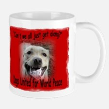 Let's Get Along... 2 sided Mug