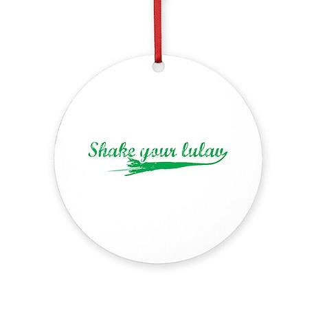 Shake you Lulav Ornament (Round)