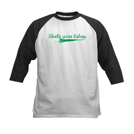 Shake you Lulav Kids Baseball Jersey