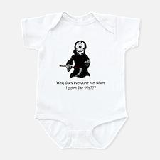 Funny Grim Reaper Infant Bodysuit
