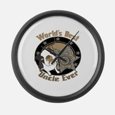 Top Dog Uncle Large Wall Clock