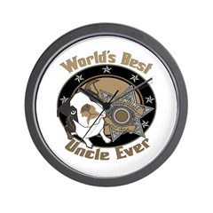 Top Dog Uncle Wall Clock