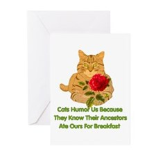Cats Humor Us Greeting Cards (Pk of 10)