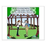 Environmentally Sound House Small Poster