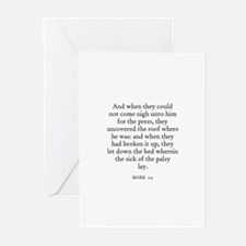 MARK  2:4 Greeting Cards (Pk of 10)
