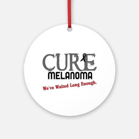 CURE Melanoma 3 Ornament (Round)