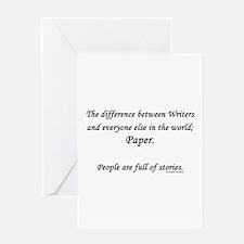 Writers world Greeting Card