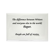 Writers world Rectangle Magnet
