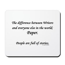 Writers world Mousepad