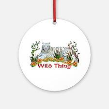 Wild Thing Ornament (Round)