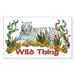 Wild Thing Rectangle Decal