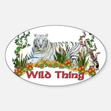 Wild Thing Oval Decal