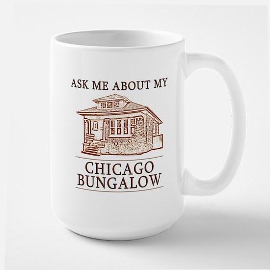 Chicago Bungalow Large Mug