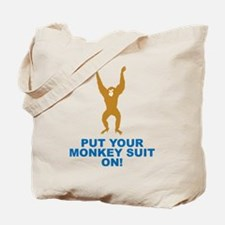 Monkey Suit Tote Bag