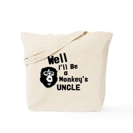 Monkey's Uncle Tote Bag