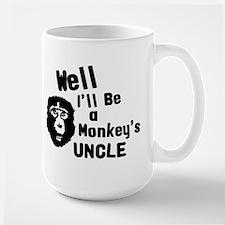 Monkey's Uncle Large Mug
