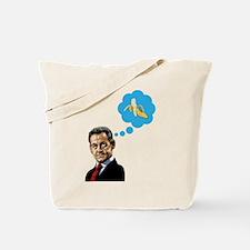 Nicolas Sarkozy Tote Bag