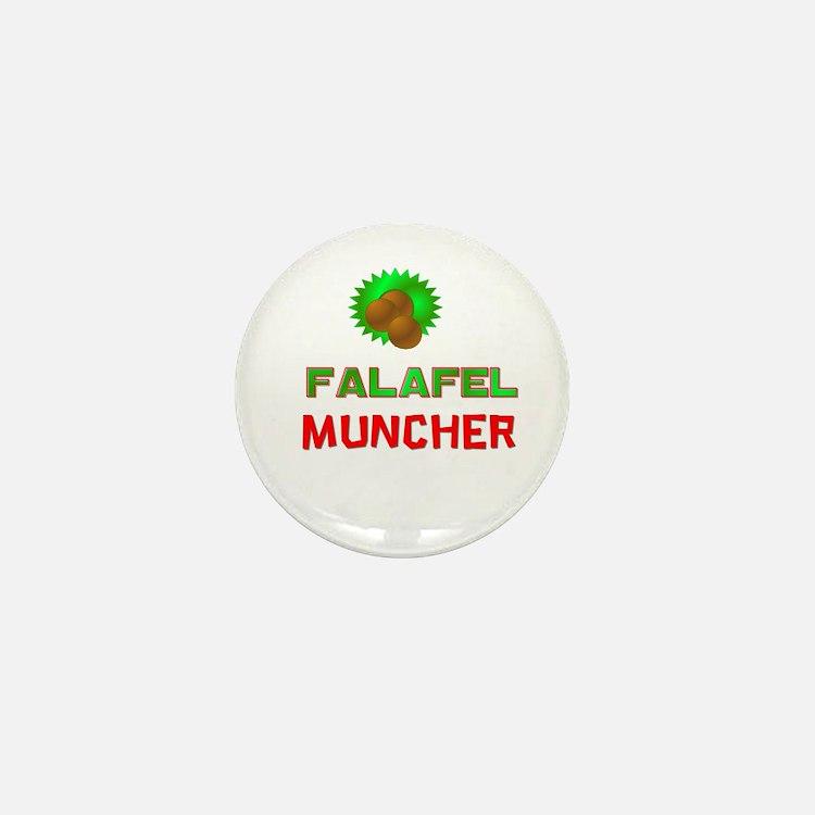 Falafel Muncher Mini Button