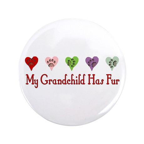 "Furry Grandchild 3.5"" Button (100 pack)"