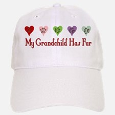 Furry Grandchild Baseball Baseball Cap
